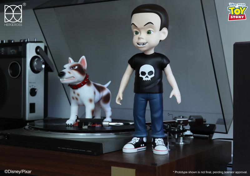Sid and Scud: Toy Story (30cm) (Hyper Vinyl Series)